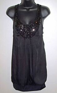 Dynamite-Size-XS-Womens-Lined-Scoop-Neck-Little-Black-Dress