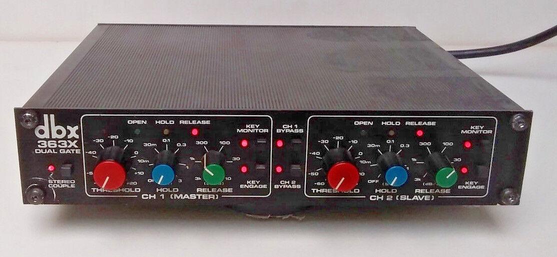DBX 363X, Dual Noise Gate, 2 Channel, Vintage Unit