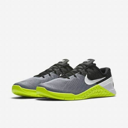 Nike Metcon 3 Training Men's shoes Grey Black Volt White 852928-001 Size 14