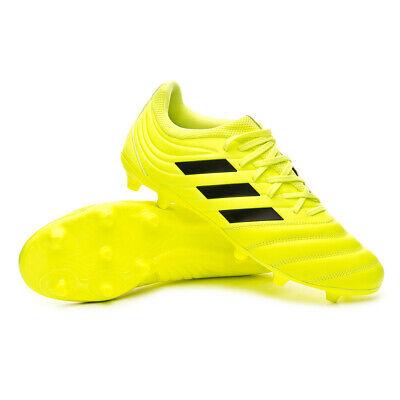 Scarpe da Calcio Uomo Adidas Copa 19.3 FG Col. Giallo Fluo | eBay