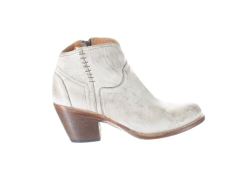 Lucchese Womens M6007 Distressed White Cowboy, Wes