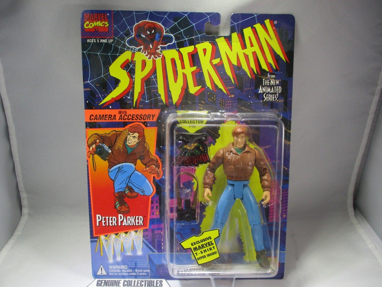 Vintage  Spider-Man PETER PARKER+Camera PARKER+Camera PARKER+Camera Accessory From The New Animated Series  d2c3d4