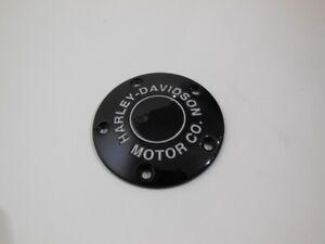 Harley-Davidson-Motor-Co-Timer-Zuendung-Zuendungsdeckel-schwarzglaenzend-25600133