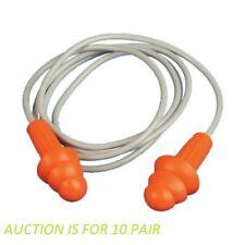 Jackson Safety H20 Reusable Triple Flange Ear Plugs 67221 10 Pairs
