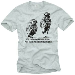 COOL FUNNY SLOGAN MENS T-SHIRT OWL PRINTED GRAPHIC DESIGN PRINT ...