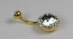 Piercing-de-nombril-Double-strass-Golde-acier-316-L-nb558