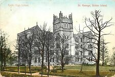 c1907 Postcard; Curtis High School, St. George, Staten Island NY Richmond County
