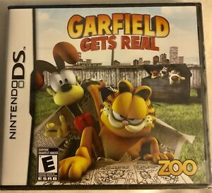 New Garfield Gets Real Nintendo Ds Sealed 802068101404 Ebay