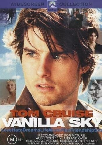 1 of 1 - VANILLA SKY, TOM CRUISE, REGION 4, NEW AND SEALED, FREE POST