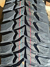 4 NEW Tires 285 70 17 BSW LRE Crosswind MT Mud Terrain mudder 33x11.50R17