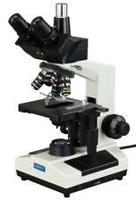 40x 1000x Lab Biological Compound Replaceable Led Trinocular Microscope