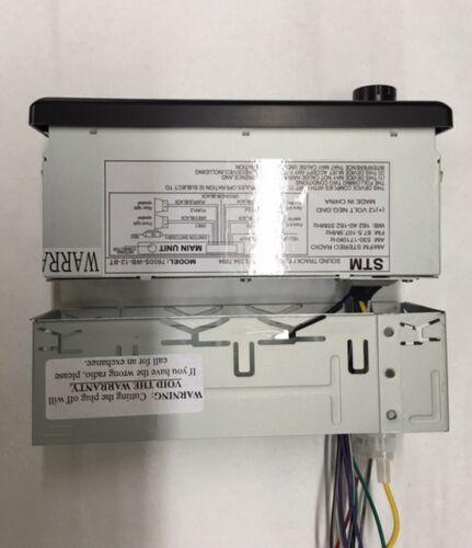 12 volt Radio for Caterpillar Mini Compact Excavator  AM//FM//WB//USB//Aux In//BT