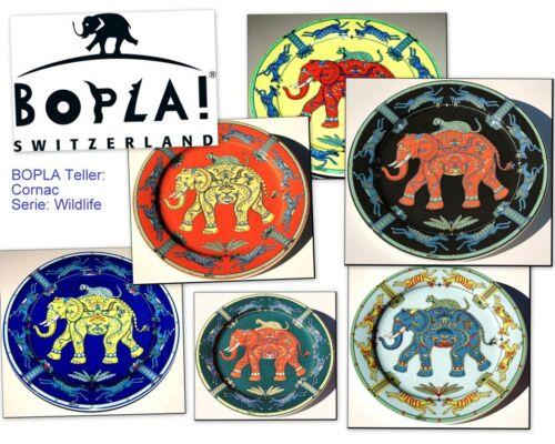 Cornac Bopla porcelaine 27cm ø grand assiettes de viande assiette large plate 10-5//8