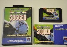 SENSIBLE SOCCER european champion – Sega Mega Drive - PAL – Boite + notice
