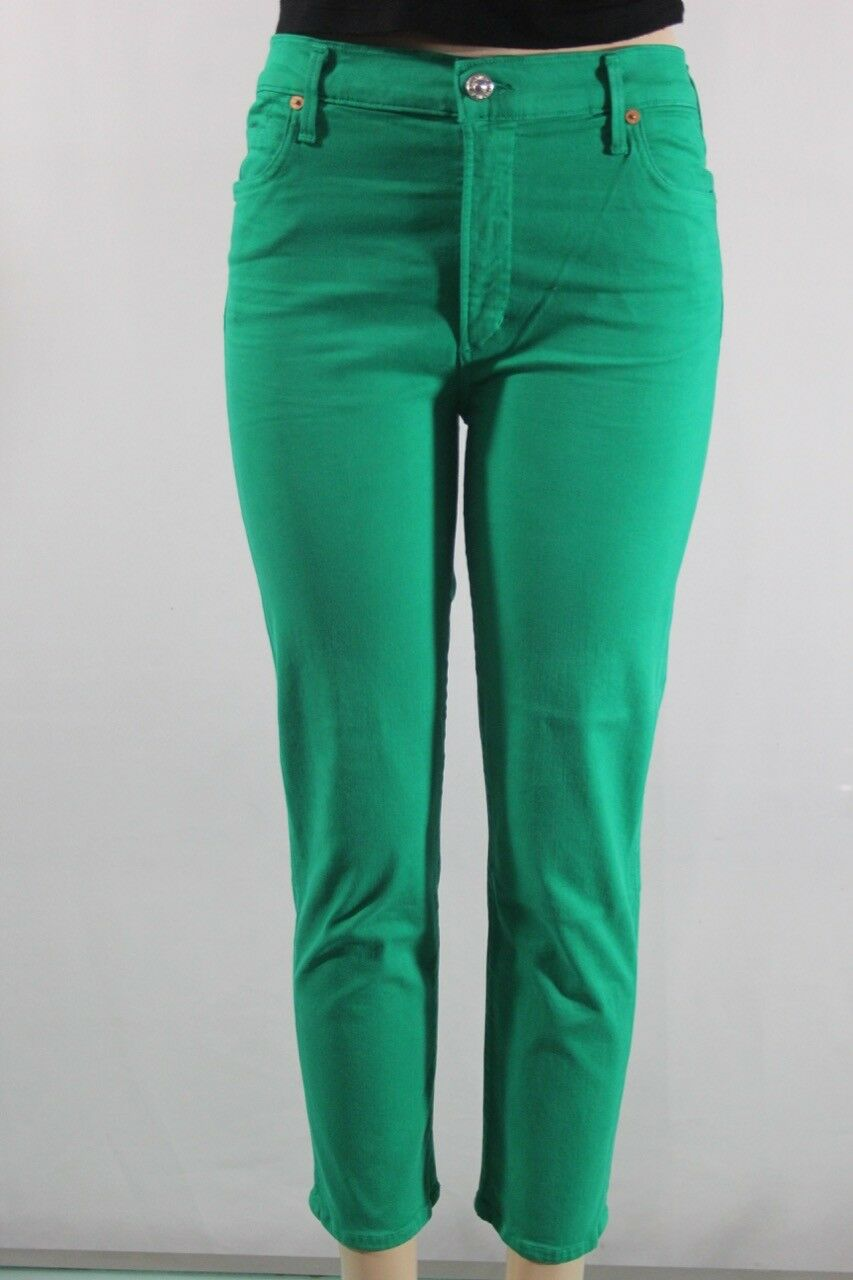 NEW Women's Citizens of Humanity Cara hight rise Cigarette ankle Jeans SZ 32