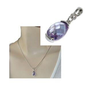 Pendentif-en-argent-massif-925-cristal-violet-facette-bijou