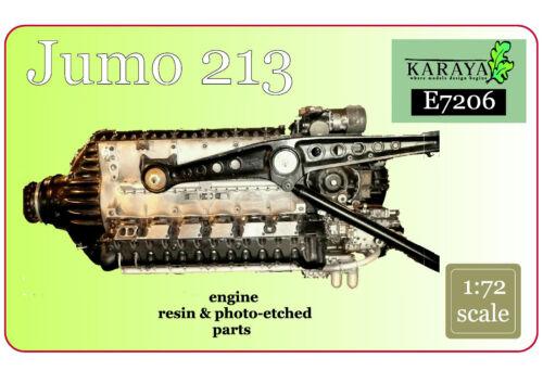 re-edition KARAYA 1//72 Jumo 213 engine