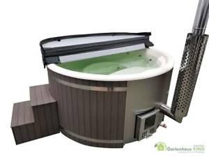 Badefass Pool Badezuber Badebottich Hot Tub Badetonne 200 Wpc