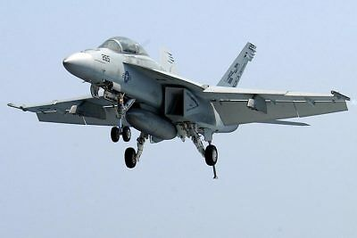 F/a-18c Hornet Prepares To Land 12x18 Silver Halide Photo Print Delicacies Loved By All Military Aircraft Collectibles