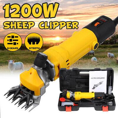 380W Electric Farm Supplies Sheep Goat Shears Animal Grooming Shearing Clipper