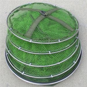 Table-Fishing-Folding-Net-Cage-Crab-Fish-Crawdad-Shrimp-Bait-Trap-Cast-Dip-Case