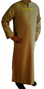 Quality Islamic Clothing Ikaf Omani Thobe for Men A genuine arabian Jubbah