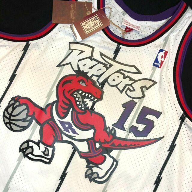 Toronto Raptors Vince Carter #15 Basketball Swingman Throwback Retro Jersey NEW