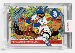 2021 TOPPS PROJECT 70 FERNANDO TATIS JR By ERMSY CARD #2 IN HAND (HTF) 📸⭐⚾️💥🔥