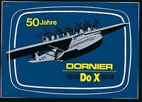 75815) Aufkleber Label 50 Jahre Do-X Dorier, klein!