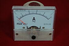 Ac 5a Analog Ammeter Panel Amp Current Meter 85c1 0 5a Ac Directly Connected