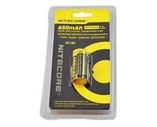 Nitecore 16340 RCR123A 3.7V Rechargeable Li-ion Battery NL166