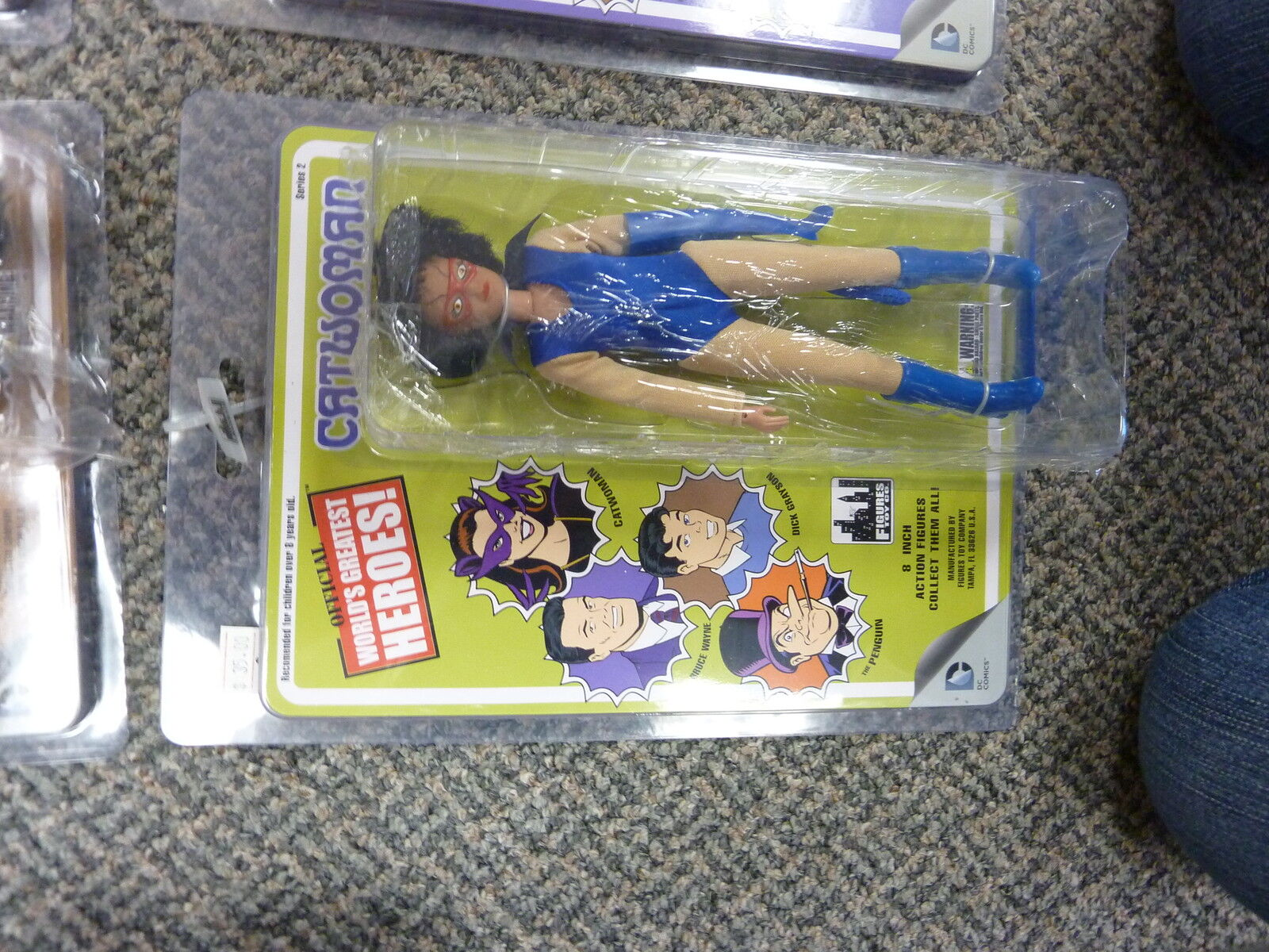 Official World's Greatest Heroes  Figures Toy Co. Series 2 Set of 4 figures 8