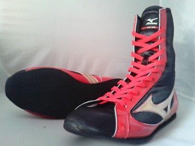 Mizuno Boxe Scarpe Rosso Nero 21GX153000 Fatta IN Giappone | eBay