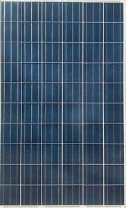 Used 240W 60 Cell Polycrystalline Solar Panels 240 Watts Silver Frame