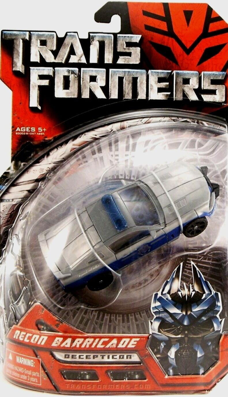 Transformers Deluxe Recon Barricade New Movie Repaint Factory Sealed 2007