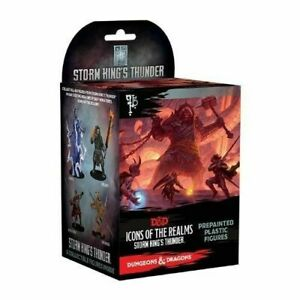 D&d Miniatures Icons of The Realms Set 5 Storm Kings Thunder Booster Brick