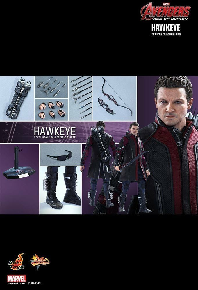 Hot Toys MMS289 Hawkeye - Avengers Age of Ultron New