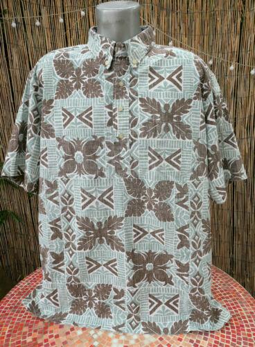 Men's REYN SPOONER Pullover Hawaiian Traditionals