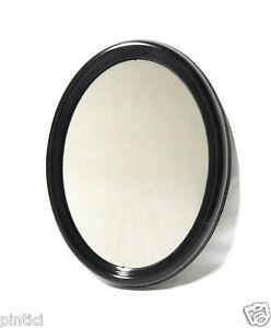 wandspiegel oval schwarz 46x36 shabby badspiegel modern spiegel schwarz antik ebay. Black Bedroom Furniture Sets. Home Design Ideas