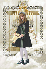 Indie Classic Lolita Dress Long Sleeves Japan Jane Marple Baby Angelic Pretty