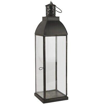Prezzo Più Basso Con Lanterna In Vetro/pilastro Portacandele Con Gancio Danish Design Ib Laursen 48 Cm- Grandi Varietà
