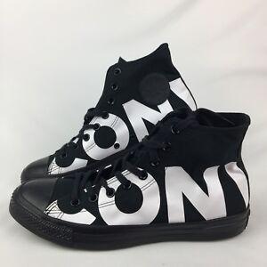 fd72b2b83dfce8 Converse Chuck Taylor All Star Hi Sneaker Black White Size 9 New ...
