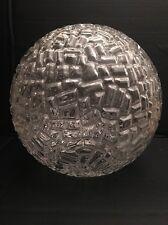Globe Verrerie Murano Années 60', Vintage Diamètre 25 Cm