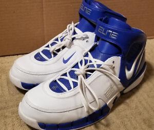 43981d0ae26 Nike SZ 18 NEW! 314183-113 Air Huarache Elite TB Hi-Top Basketball ...