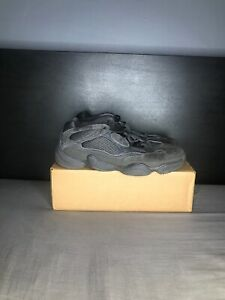 cheaper 63f38 fd041 Details about Adidas Yeezy 500 Utility Black Rat Size 13 Boost F36640