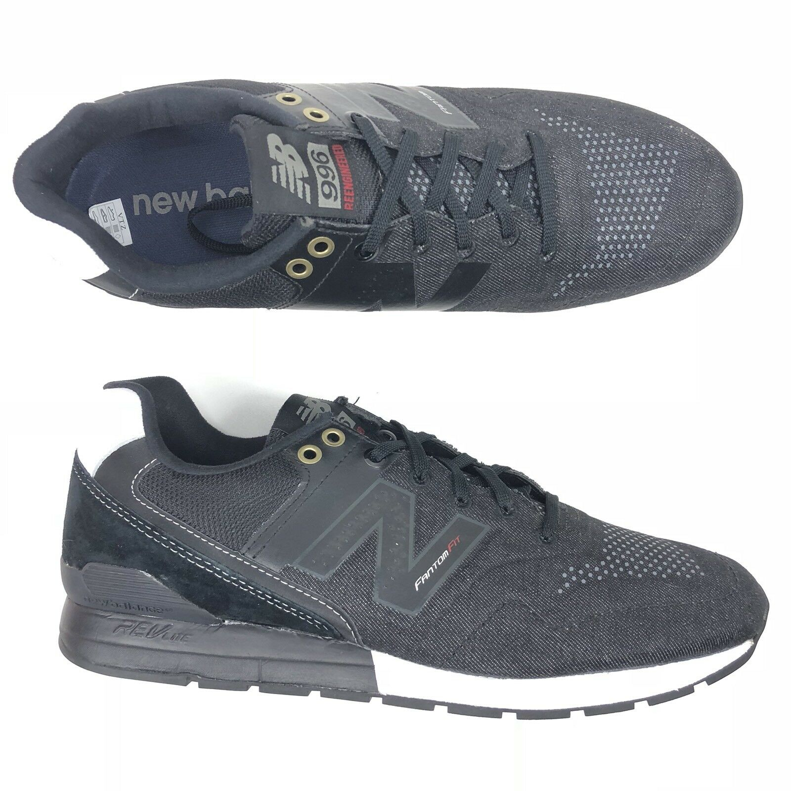New Balance Mens 996 ReEngineered Fantom Fit Running Shoes MRL996FS Size 10