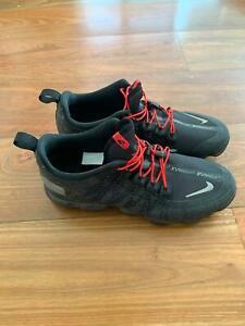 Details about Mens Nike Air VaporMax Run Utility Black Red | AQ8810 001