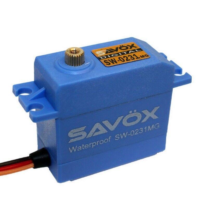 Savox SW-0231MG Waterproof Std Digital Servo .15 208