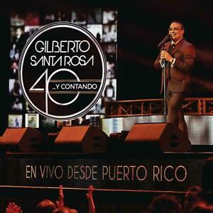 Gilberto-Santa-Rosa-40-y-Contando-CD-DVD-En-Vivo-Puerto-Rico-NOW-SHIPPING