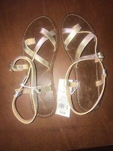 e9db592612b4 Women s Lavinia Toe Wrap Thong Sandal - Universal Thread Gold - Size ...